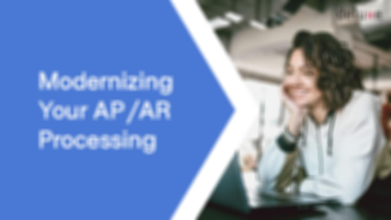 Modernizing AP/AR Processing  banner