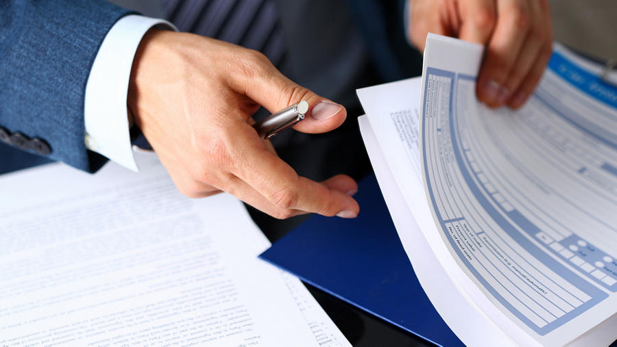 Business Forms Background
